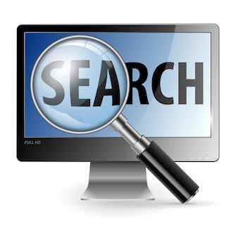Concepto de búsqueda