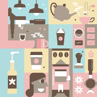 Concepto de cafe
