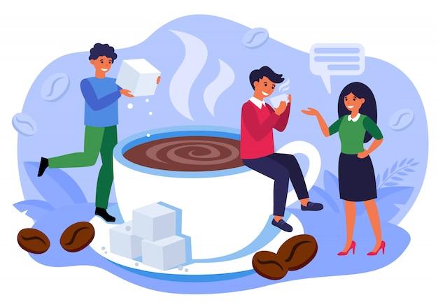 Concepto de cafetería