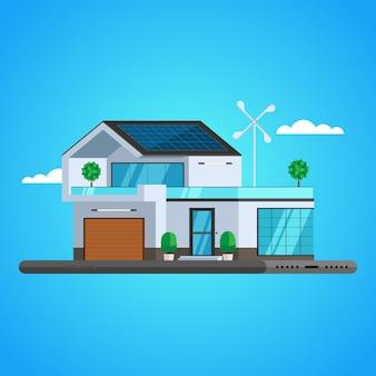 Concepto de casa inteligente