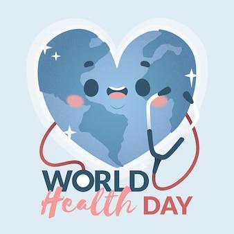 Concepto de celebración del día mundial de la salud