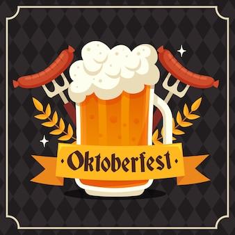 Concepto de celebración del oktoberfest