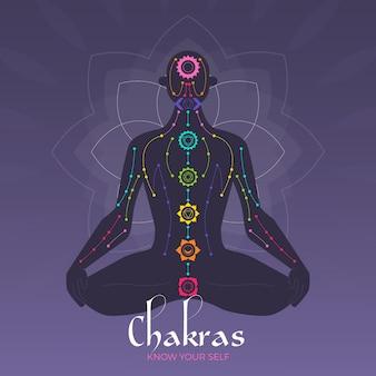 Concepto de chakras