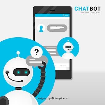 Concepto de chatbot
