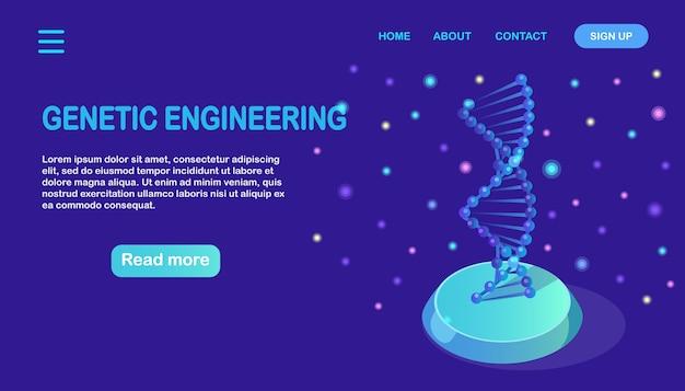 Concepto de ciencia biotecnología