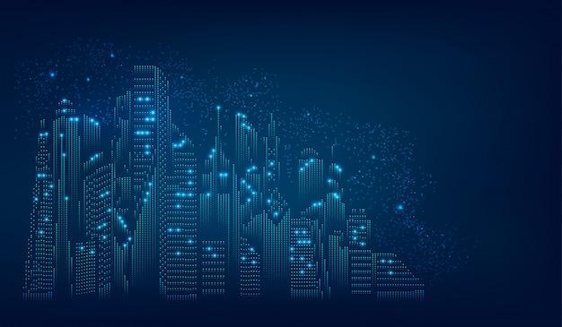 Concepto de ciudad digital