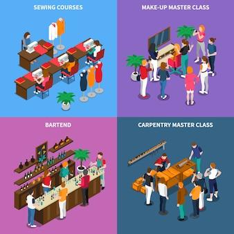 Concepto de clase magistral y cursos