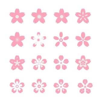 Concepto de colección sakura