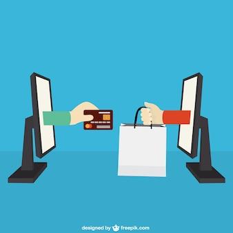 Concepto del comercio electrónico