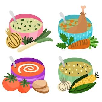 Concepto de comida reconfortante