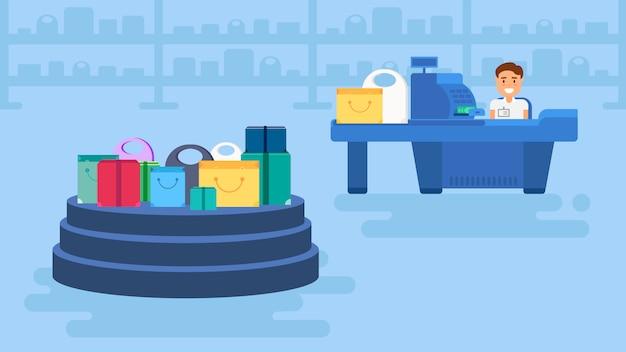Concepto de compras