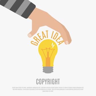 Concepto de conformidad de copyright