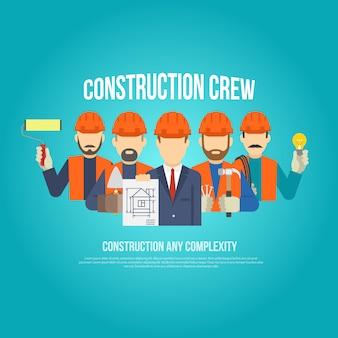 Concepto de constructores planos