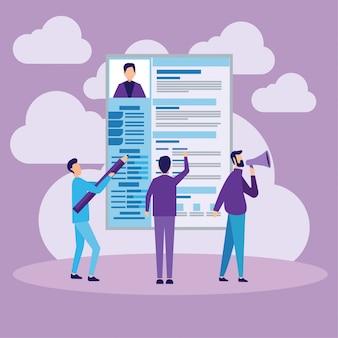 Concepto de contratación y contratación