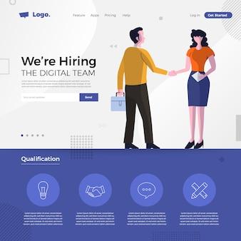 Concepto de contratación