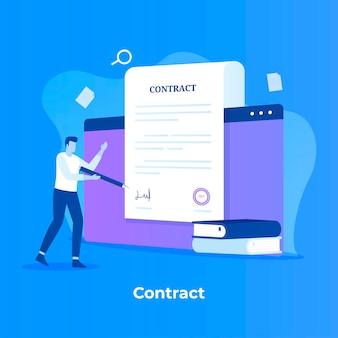 Concepto de contrato