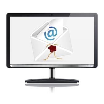 Concepto de correo electrónico