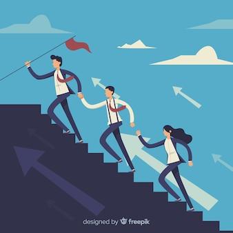 Concepto creativo de liderazgo