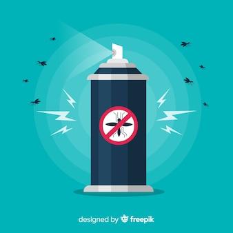 Concepto creativo de mosquito control