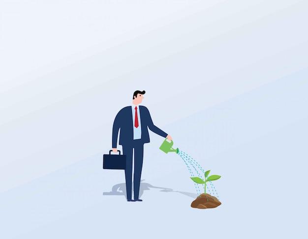 Concepto de crecimiento empresarial