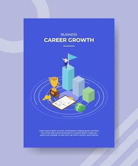 Concepto de crecimiento profesional