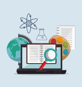 Concepto de comunidad global e-learning