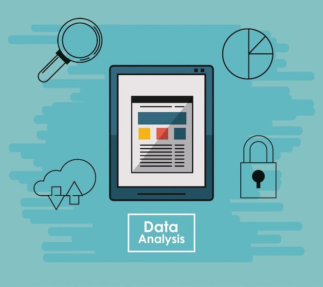 Concepto de elementos de análisis de datos
