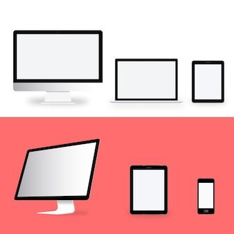 Concepto de icono de dispositivo digital de tecnología