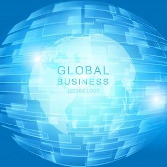 Concepto de negocio global
