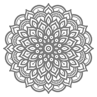 Concepto decorativo mandala abstracto ilustración