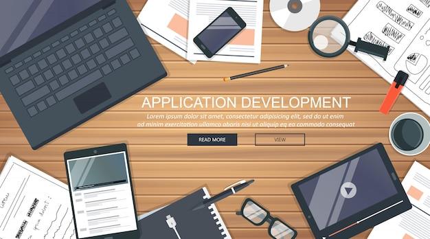 Concepto de desarrollo de aplicaciones