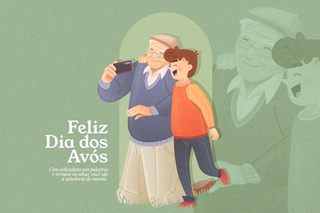 Concepto dia dos avós