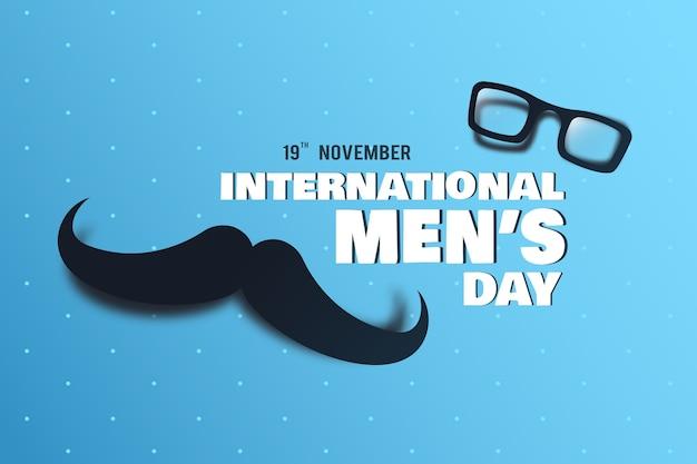 Concepto del día internacional del hombre