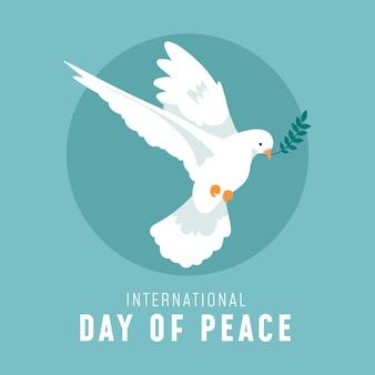 Concepto del día internacional de la paz