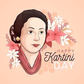 Concepto del día de kartini