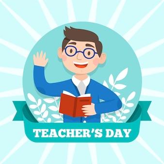 Concepto del día del maestro