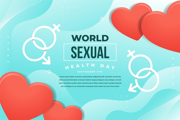 Concepto del día mundial de la salud sexual