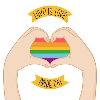 Concepto del día del orgullo