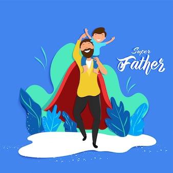Concepto del día del padre.