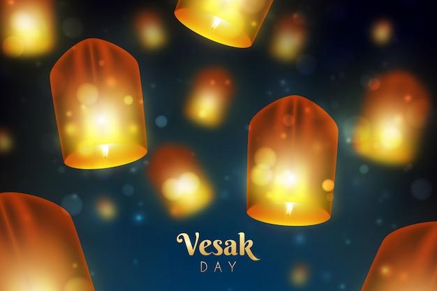 Concepto de día de vesak