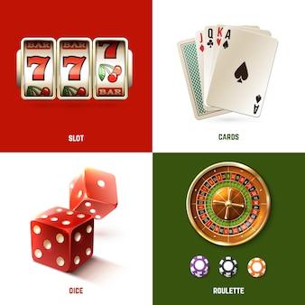 Concepto de diseño de casino