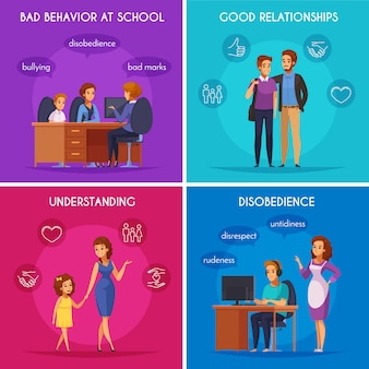 Concepto de diseño de casos de paternidad