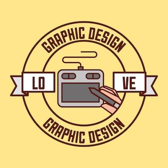 Concepto de diseño gráfico