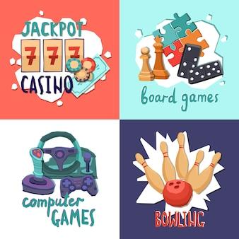 Concepto de diseño de juego