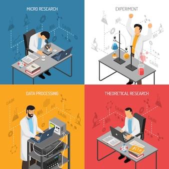 Concepto de diseño de laboratorio de ciencias