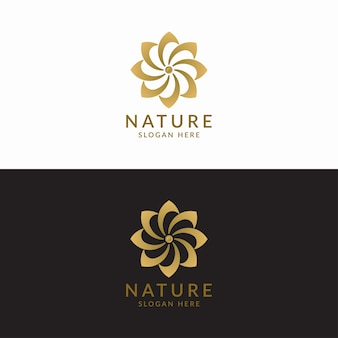 Concepto de diseño de logotipo de lujo