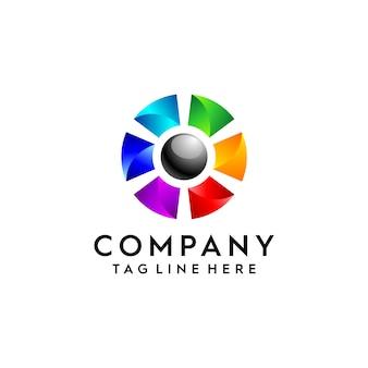 Concepto de diseño de logotipo