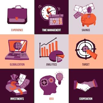 Concepto de diseño de negocios