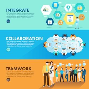 Concepto de diseño plano de marketing digital