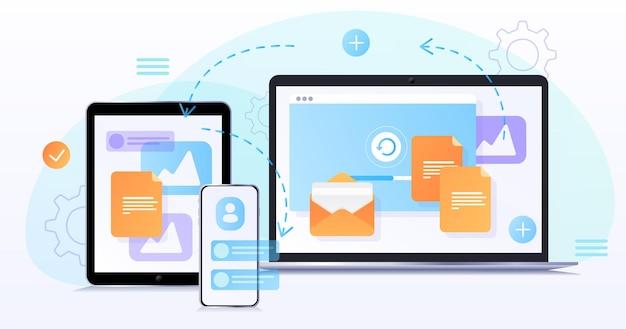 Concepto de diseño web desarrollo de página de sitio web el proceso de trabajo plantilla de página de destino para sitio web optimización del desarrollo web experiencia de usuario elementos de diseño de sitio web transferencia de datos fotográficos